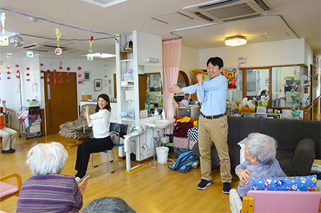 介護施設、サービス付き高齢者向け住宅の企画、運営サポート、健康の保持増進活動